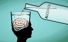 Uống rượu làm giảm chất xám?