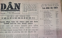 45 năm cuộc bầu cử trên non sông thống nhất - Kỳ 4: Ba tỉnh, hai miền và một nước Việt