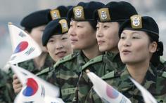 Tranh cãi nghĩa vụ quân sự bắt buộc với nữ giới ở Hàn Quốc