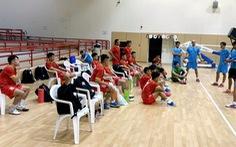 BĐTV trực tiếp trận tranh vé dự World Cup futsal 2021 Việt Nam - Lebanon