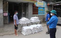 10 tấn gạo 'san sẻ yêu thương' hỗ trợ thanh niên công nhân ở Bắc Giang