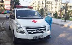 Chàng trai vượt hơn 500km tình nguyện lái xe cứu thương chống dịch ở Bắc Giang