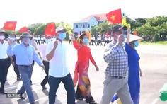 Thị trấn Trường Sa lần đầu bầu cử cùng thời điểm với cả nước