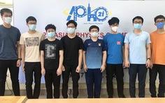 Học sinh Hà Nội đạt điểm cao nhất Olympic vật lý châu Á - Thái Bình Dương