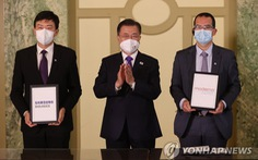 Mỹ, Hàn Quốc ký thỏa thuận sản xuất vắc xin Moderna