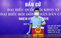 Đội tuyển quốc gia và U22 Việt Nam bầu cử ngay tại trụ sở VFF
