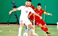 Hòa futsal Lebanon 0-0, Việt Nam có chút lợi thế trước trận lượt về