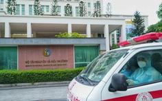 Bộ Tài nguyên và môi trường gỡ phong tỏa tạm sau khi nhân viên nghi nhiễm đã âm tính
