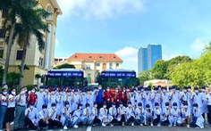 100 giảng viên, sinh viên trường y lên đường chi viện Bắc Giang, Bắc Ninh dập dịch