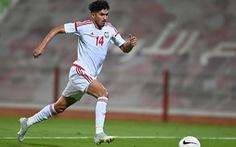 Tiền vệ tuyển UAE Khalil Ibrahim: 'Chúng tôi sẽ thắng Việt Nam và các đối thủ còn lại'