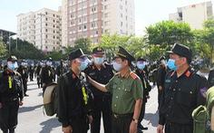 Bộ Công an chi viện 400 chiến sĩ, học viên cho Bắc Ninh phòng chống dịch COVID-19