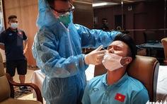 Đội tuyển Việt Nam tiếp tục xét nghiệm COVID-19 trước trận gặp Jordan