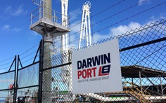 Úc xem lại việc thuê cảng Darwin của công ty Trung Quốc