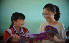 Mang chữ ra đảo Cù Lao Xanh