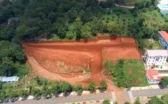 Thanh tra việc cấp phép xây dựng san lấp 1 ngọn đồi ở TP Gia Nghĩa