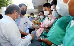 Y bác sĩ Thừa Thiên Huế lên đường vào tâm dịch Bắc Giang chống dịch