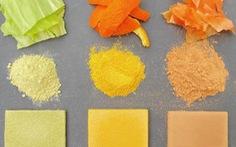 Biến rác thải thực phẩm thành vật liệu xây dựng