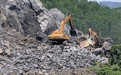 Thừa Thiên Huế yêu cầu Trường Thịnh dừng khai thác mỏ đá trái phép