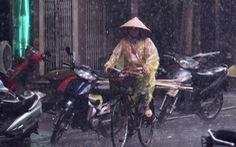Đêm nay và ngày mai Bắc Bộ, Bắc Trung Bộ mưa lớn