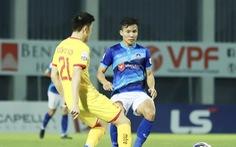 Giải bóng đá hạng nhất, hạng nhì quốc gia phải tạm dừng vì COVID-19