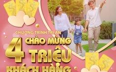 Mừng 4 triệu khách hàng, Dai-ichi Life Việt Nam tặng 400 giải thưởng vàng SJC 999.9