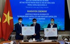 TP.HCM hỗ trợ Phnom Penh, Vientiane chống dịch