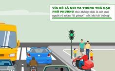 Những hành vi kém văn minh giao thông cần sớm bị 'xóa sổ'