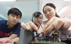 Nhiều ưu đãi, vẫn ít nữ sinh theo ngành kỹ thuật