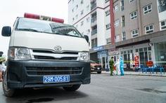 Hà Nội phong tỏa, phun khử khuẩn chung cư hơn 1.000 dân