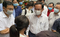 Bí thư Nguyễn Văn Nên: Không thể chấp nhận sản xuất có hóa chất dễ cháy trong khu dân cư