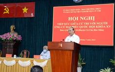 Chủ tịch nước Nguyễn Xuân Phúc: TP.HCM phát triển thành hình mẫu thì không thể để Củ Chi lạc hậu