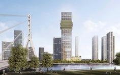 Hiện trạng The Sun Tower - tòa nhà mang tính biểu tượng trong khu phức hợp Grand Marina