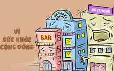 """Coi chừng nhà hàng karaoke """"'ve sầu thoát xác'"""