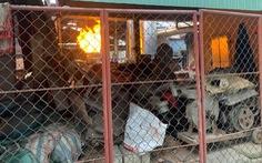 Lò đúc đồng gây ô nhiễm trong khu dân cư ở Huế