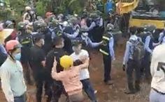 Xảy ra xô xát khi người dân ngăn thi công tại dự án điện gió Đắk N'Drung 1