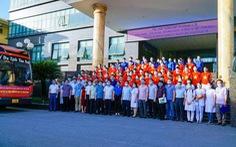 78 bác sĩ, sinh viên Thái Bình chi viện cho Bắc Ninh, Bắc Giang