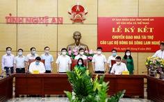 Sông Lam Nghệ An có nhà tài trợ mới sau 12 năm