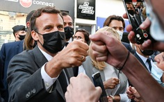 Thanh niên tát Tổng thống Pháp bị phạt 18 tháng tù, 14 tháng là án treo