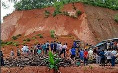 Sạt lở đất sau mưa lớn ở Yên Bái, một phụ nữ tử vong
