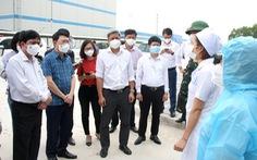 Thứ trưởng Bộ Y tế: 'Việt Yên vẫn là điểm nóng về dịch, Bắc Giang cần duy trì hiện trạng 2-3 tuần'