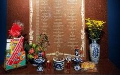 Giữa bảo tàng mỹ thuật, độc đáo gian thờ 61 nghệ sĩ đã bỏ mình trong chiến tranh