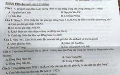 Đề sử thi vào lớp 10 Hà Nội