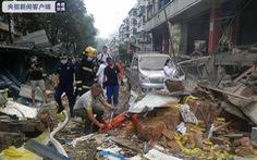 Nổ lớn ở Trung Quốc: 12 người chết, 138 người bị thương