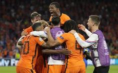 Hà Lan thắng trận cầu nghẹt thở trước Ukraine
