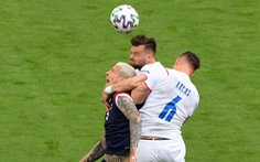 Scotland - CH Czech (hiệp 1) 0-0: Schick bỏ lỡ cơ hội ghi bàn cho CH Czech