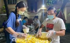 Mai Phương Thúy nấu ăn sáng cho y bác sĩ Bệnh viện Bệnh nhiệt đới