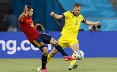 Tây Ban Nha - Thụy Điển (hết hiệp 1) 0-0: Tây Ban Nha gây sức ép