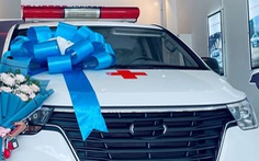 Xe cứu thương phòng chống dịch ở Cần Thơ 'trùm mền' vì chờ quyết toán