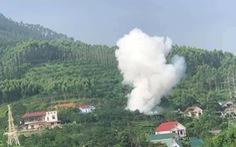 Một người tử vong sau tiếng nổ lớn, khói trắng cao hàng chục mét