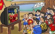 Cộng đồng mạng hào hứng chúc mừng tuyển Việt Nam 'lên thuyền' đi tiếp vòng loại thứ 3 World Cup